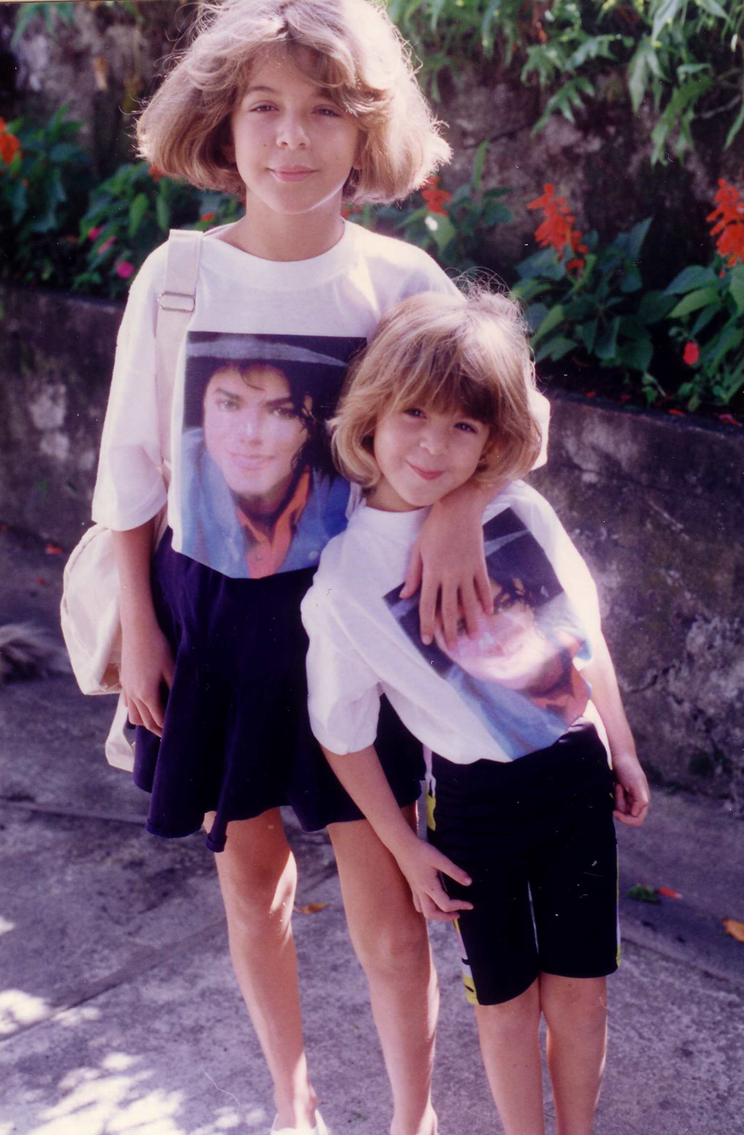 1991_05_26_Caroline et Julie Michael Jackson